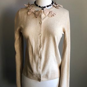 J.Crew Sweater with Bow Detail Cute!